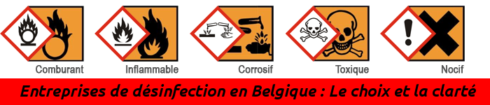 Annuaire des Entreprises de désinfection en Belgique