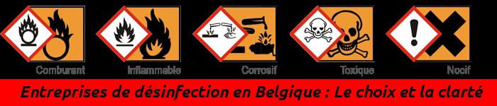 Annuaire des Entreprises de désinfection en Belgique